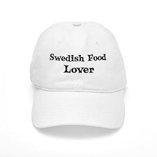 Swedish Food lover Baseball Cap