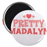 "Madalyn 2.25"" Magnet (10 pack)"