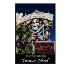 Treasure Island Sign Postcards (8)