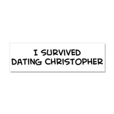 Unique Dating humor Car Magnet 10 x 3