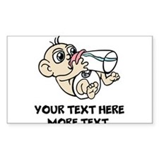 Funny Baby   Personalized Decal