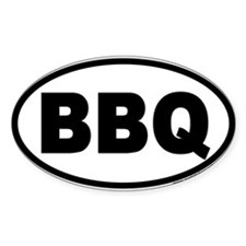 Funny Barbecuing Decal