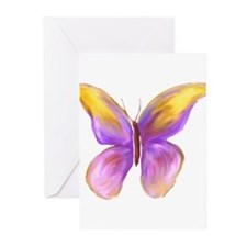Pretty Butterfly 2 Greeting Cards (Pk of 20)