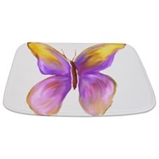 Pretty Butterfly 2 Bathmat
