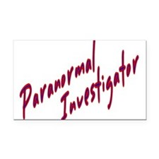 Cute Ghost hunters Rectangle Car Magnet