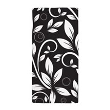 Elegant Leaves Beach Towel
