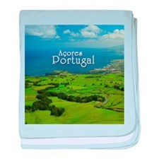 Azores - Portugal baby blanket