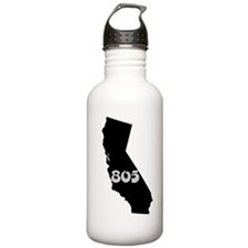 CALIFORNIA 805 [3 black/gray] Water Bottle