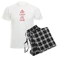 Keep Calm and Kiss Yahir Pajamas