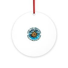 CRPS  RSD Awareness World of Fire   Round Ornament