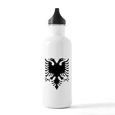 Albanian Eagle Black Water Bottle