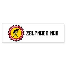 Selfmade man propaganda Bumper Bumper Sticker
