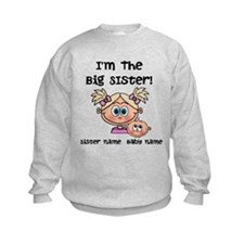 Big Sister 1 (blonde) - Customize! Sweatshirt