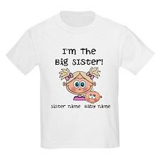 Big Sister 1 (blonde) - Customize! T-Shirt