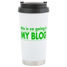 Cute Bloggers Travel Mug