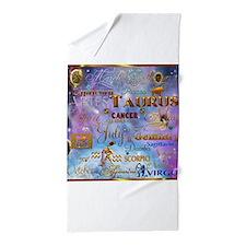 Zodiac Cosmos Beach Towel