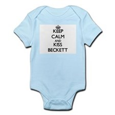 Keep Calm and Kiss Beckett Body Suit