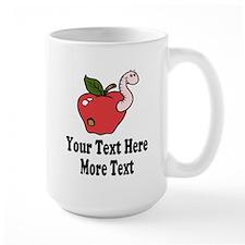Red Apple School Teacher Mugs