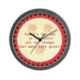 Celebrate Wall Clock
