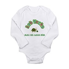 Cool Baby turtle Long Sleeve Infant Bodysuit