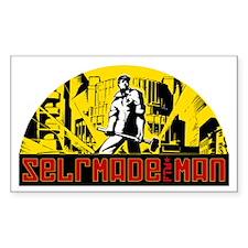 Selfmade man Rectangle Decal