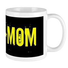 Army Mom: Black and Gold Mugs