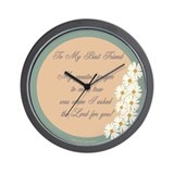 My Best Friend Wall Clock