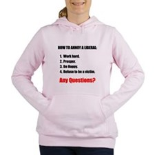Annoy a Liberal Women's Hooded Sweatshirt