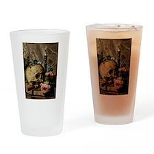 Vintgage Skull Drinking Glass