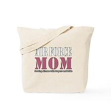 Air Force Mom Pink Tote Bag