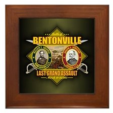 Bentonville (battle)1.png Framed Tile