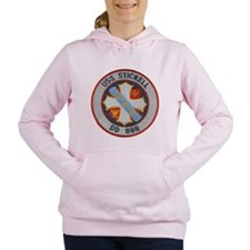 USS STICKELL Women's Hooded Sweatshirt