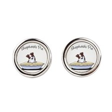 Shepherds Pie Round Cufflinks