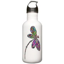 DragonflyNeon Sports Water Bottle
