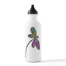 DragonflyNeon Water Bottle