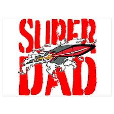 Super Dad Invitations