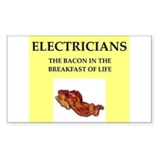 Cute Electrician funny Decal