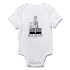 Oilman Infant Bodysuit