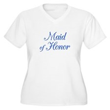 Maid of Honor (blue) T-Shirt