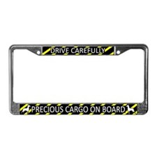 Precious Cargo German Pinscher License Plate Frame