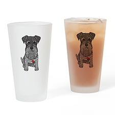 Spunk - Schnauzer Drinking Glass