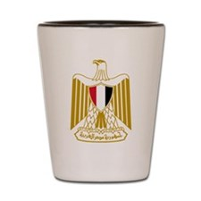 Egypt Flag Eagle Shot Glass