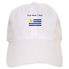 Custom Distressed Uruguay Flag Baseball Baseball Cap