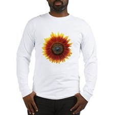 Unique Red flower Long Sleeve T-Shirt