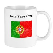 Custom Distressed Portugal Flag Mugs
