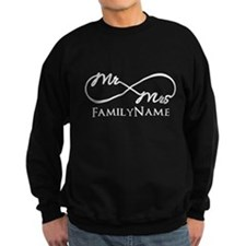 Custom Infinity Mr. and Mrs. Jumper Sweater