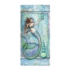 Balance Mermaid Fantasy Art Beach Towel