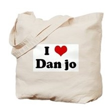 I Love Dan jo Tote Bag