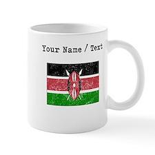 Custom Distressed Kenya Flag Mugs