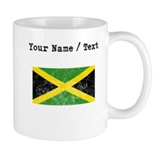 Custom Distressed Jamaica Flag Mugs